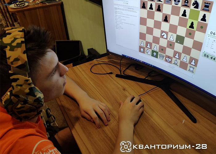 Учащиеся технопарка «Кванториум-28» показали отличный результат в межрегиональном турнире по шахматам