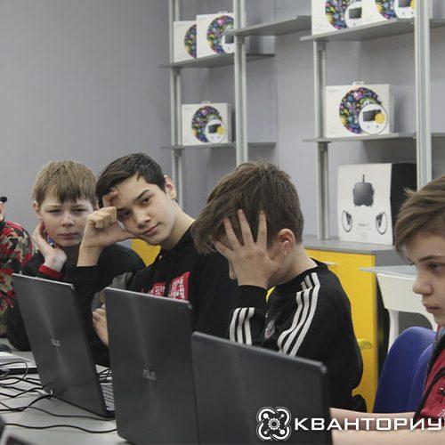 «Кванториум-28» в Свободном познакомил школьников с искусственным интеллектом, планетоходами, беспилотниками и финансовыми расчетами в рамках Х Недели высоких технологий