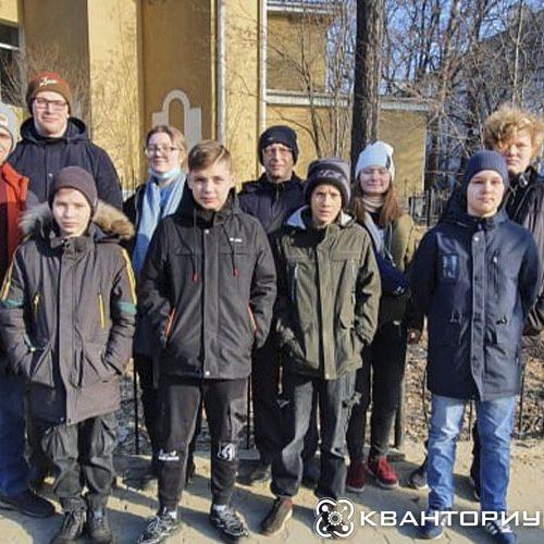 Победители городского этапа «Больших вызовов» от «Кванториум-28» Свободного отправились в лагерь «Колосок»