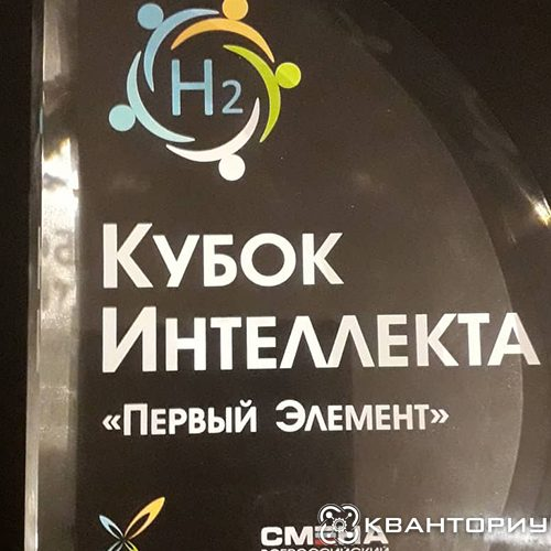 «Кубок интеллекта» и место в топ-15: амурские кванторианцы показали отличный результат во всероссийском конкурсе «Первый элемент»