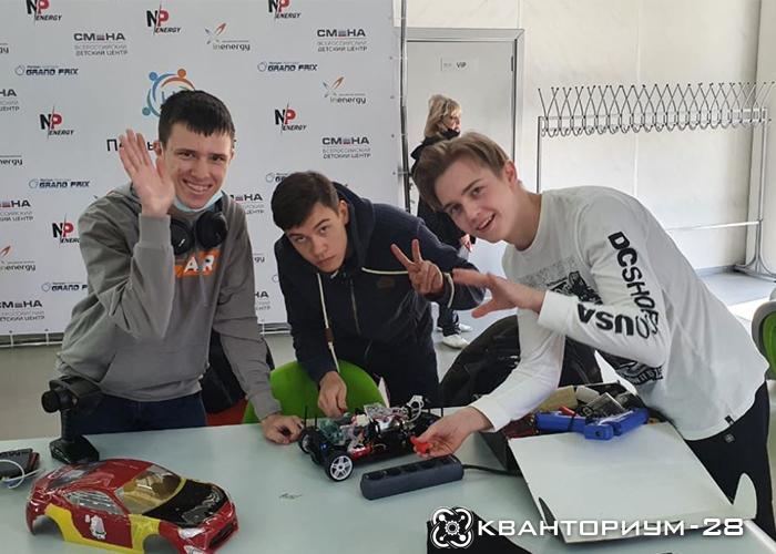 Амурские кванторианцы участвуют в финале всероссийского конкурса «Первый Элемент» в Анапе