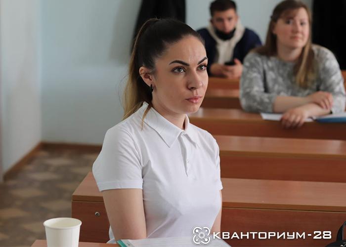 Педагог-организатор «Кванториум-28» приняла участие в XXII региональной научно-практической конференции «Молодёжь XXI века: шаг в будущее»