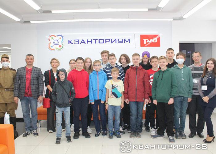 «Кванториум-28» провел мастер-классы для московских кадетов