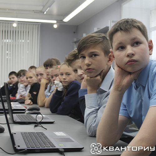 Салют Победы в Godot  и «Катюша» на английском: «Кванториум-28 провел серию необычных мастер-классов в Свободном