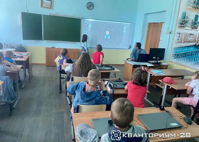 Больше 150 детей посетили мастер-классы мобильного кванториума в пгт Магдагачи