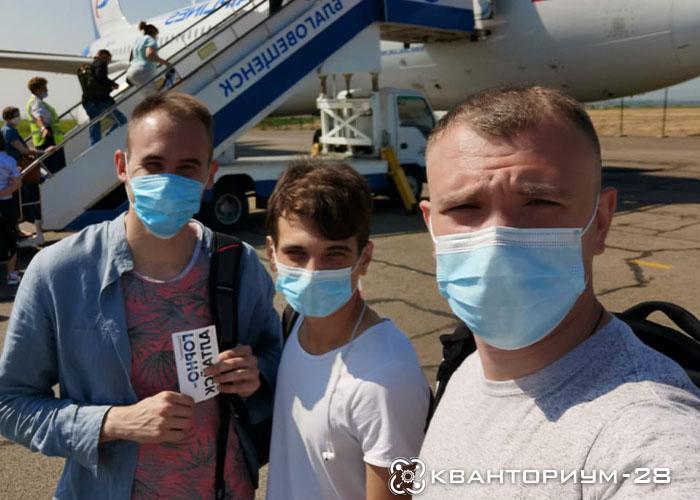 Три наставника амурского мобильного кванториума отправились на курсы повышения квалификации во Владимир