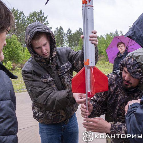 Амурские кванторианцы запустили собственную ракету с космодрома «Восточный»
