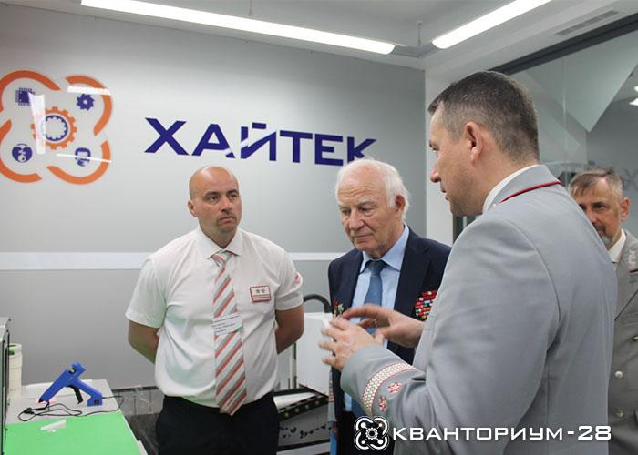 «Кванториум-28» в Свободном посетил первый президент «РЖД» Геннадий Фадеев
