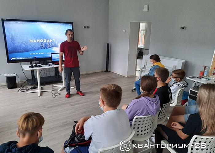 «Кванториум-28» провел мастер-класс для школьников-баскетболистов Камчатки
