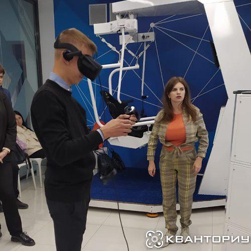 «Кванториум-28» научил девятиклассников Свободного работать с 3D принтером и познакомил с разработкой web-приложений