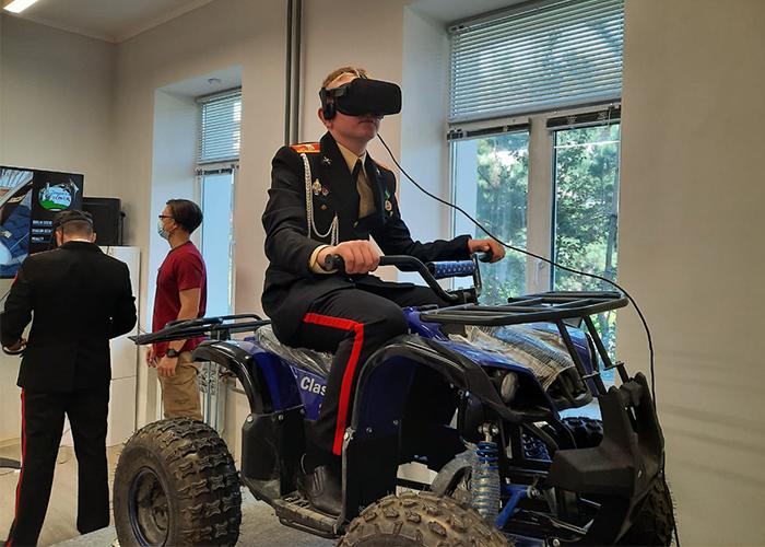 Амурские кадеты стали гостями детского технопарка «Кванториум-28»