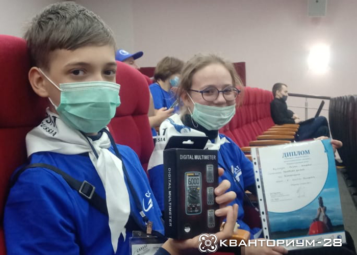 Амурские кванторианцы взяли «серебро» на Всероссийском чемпионате «Воздушно-инженерной школы»